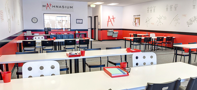 Mathnasium Interior