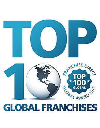 Top 100 Global Franchises - Franchise Direct Award 2017