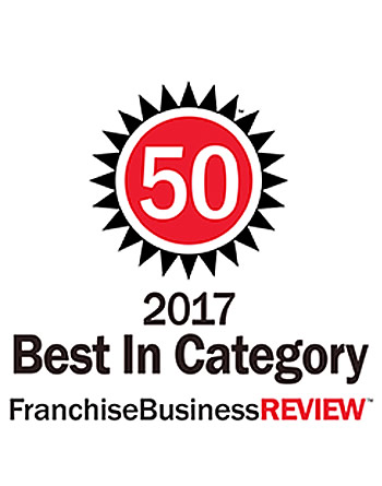 Top 50 Franchises 2017, Best in Category - Franchise Business Review.